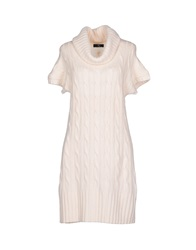 Fay Short Dresses Ivory