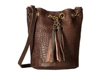 Leather Rock Hj95 Brown Handbags