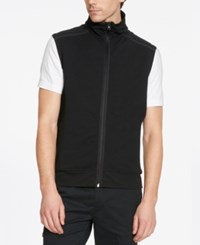 Kenneth Cole Reaction Men's Zip Front Vest Black