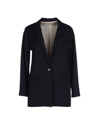 Suoli Suits And Jackets Blazers Women Dark Blue