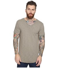 Kinetix Basic T Shirt Olivepit Men's T Shirt Gray
