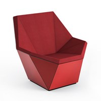 Knoll Prism Lounge Chair With Fixed Base