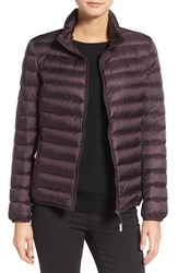 Tumi Women's 'Pax On The Go' Packable Quilted Jacket Blackberry