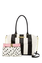 Betsey Johnson Hidden Treasure Satchel Multi
