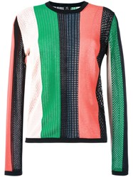 Paul Smith Ps By Round Neck Striped Jumper