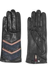 Agnelle Leather Gloves Black