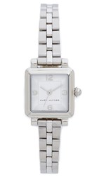 Marc Jacobs Vic Watch Sterling Silver Silvery White