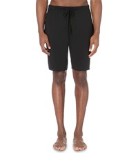 Ralph Lauren Drawstring Jersy Shorts Polo Black