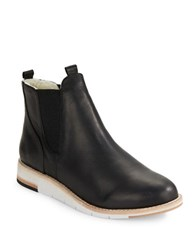 Matt Bernson Infinity Leather Boots Black