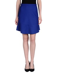 Sonia By Sonia Rykiel Knee Length Skirts Bright Blue
