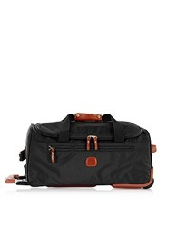 Bric's X Travel Medium Rolling Duffle Bag Black