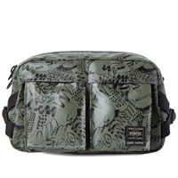 Porter Yoshida And Co. X James Jarvis Waist Bag Green