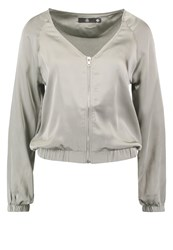 Missguided Summer Jacket Khaki Grey