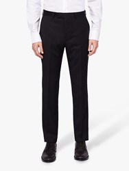 Ted Baker Timzon Wool Tailored Suit Trousers Black