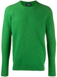 Drumohr Knitted Jumper Green