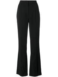 Lala Berlin Flared Trousers Black