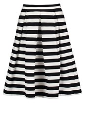 Mintandberry Aline Skirt Black White