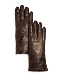 Bloomingdale's Leather Gloves Brown