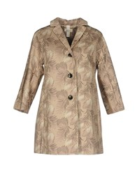 At.P. Co At.P.Co Overcoats Beige