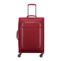 Delsey Dauphine 3 4 Wheel Trolley Case Red