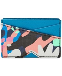Fossil Gift Card Case Painted Floral