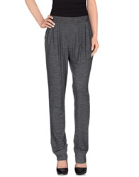 Pianurastudio Trousers Casual Trousers Women Grey