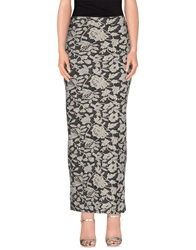 Only Long Skirts Steel Grey