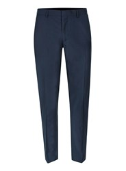 Topman Mid Blue Skinny Fit Suit Pants