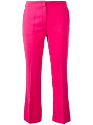 N 21 No21 Cropped Trousers Pink Purple