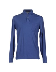 Hartford Topwear Polo Shirts Men Blue