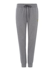 Lyle And Scott Men's Fleece Track Pant Grey Marl