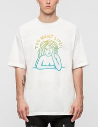 The Quiet Life Smoking Girl Gradient S S T Shirt