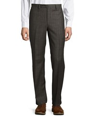 Lauren Ralph Lauren Glen Plaid Dress Pants Brown