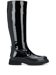 Tod's Patent Knee High Boots 60