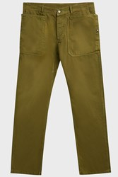 Missoni Cotton Chino Trousers Green