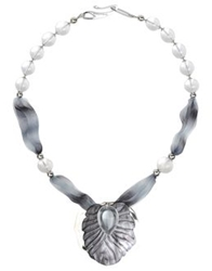 Giorgio Armani Necklaces Light Grey