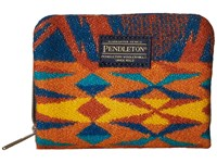 Pendleton Mini Accordion Wallet Echo Peaks Blue Wallet Handbags Navy