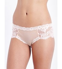 Mimi Holliday Mimosa Smooth Mesh Hipster Briefs Ice Pink