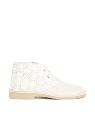 Asos Army Suede Ankle Boots Crochet