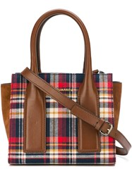 Dsquared2 Checked Tote Multicolour