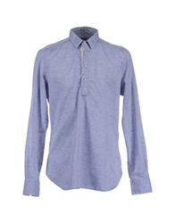 Coast Weber And Ahaus Long Sleeve Shirts Azure