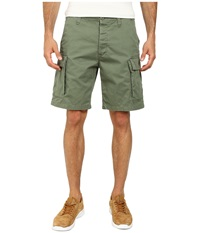 Obey Recon Shorts Light Army Men's Shorts Green