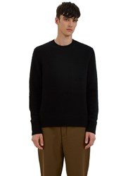 Acne Studios Peele Cashmere Knit Sweater Black