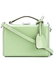 Mark Cross Flip Fastening Tote Green