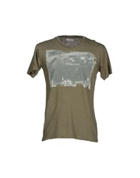 Bomboogie Topwear T Shirts Men Green