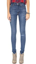 Cheap Monday Second Skin Jeans Surreal Blue