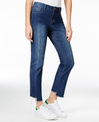 Rachel Roy Midnight Blue Wash Straight Leg Jeans Only At Macy's