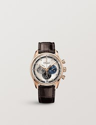 Zenith 18.2043.400 69.C494 El Primero 18Ct Rose Gold And Alligator Leather Watch