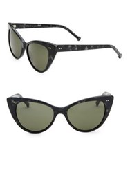 Colors In Optics Audrey Cat Eye Sunglasses Blonde Black