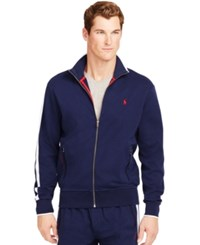 Polo Ralph Lauren Men's Full Zip Interlock Track Jacket French Navy